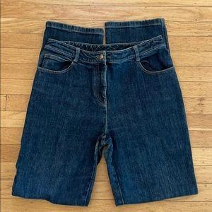St. John straight leg high waist jeans